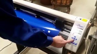 Cutting Your Desgin on the Vinyl Cutter
