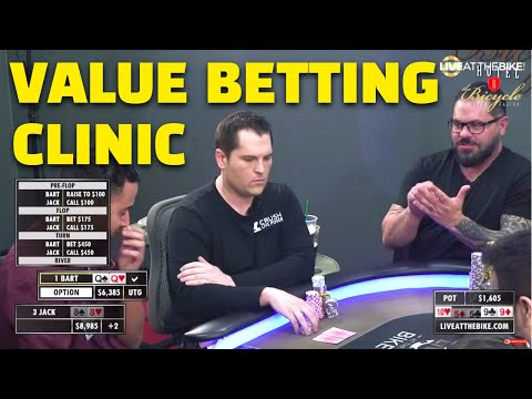 Poker Strategy: Bart Hanson Puts on a Value Betting Clinic