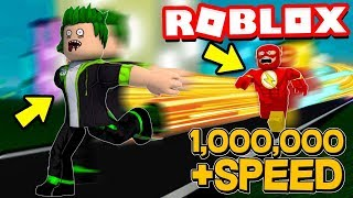⚡I BECAME THE FASTEST RUNNER AT ROBLOX⚡ | Speed Pro | Roblox English