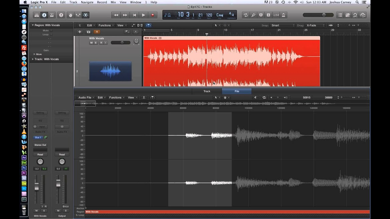 Logic Pro X - Video Tutorial 17 - Isolate or Remove Vocals from a Song with  Phase Cancellation