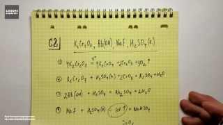 ЕГЭ по химии, С2 или задание 37.