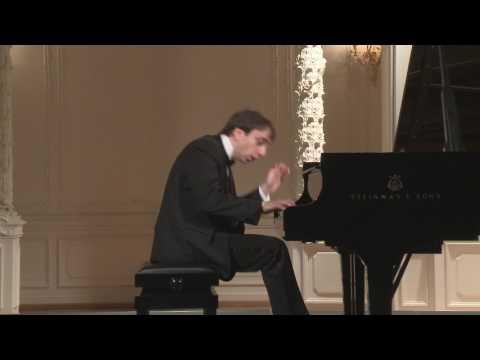 Miroslav Kultyshev (piano) in English Hall of St. Petersburg Music House 2016-06-24