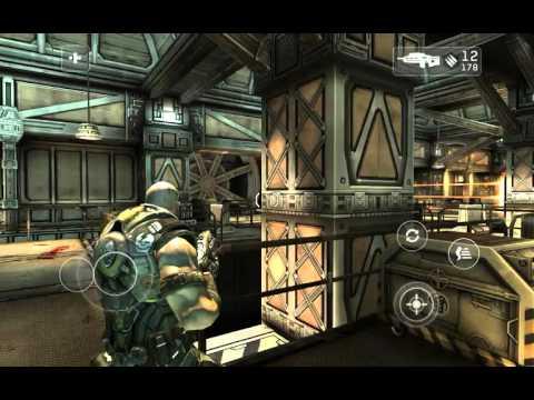 Обзор игры Shadowgun на андроид