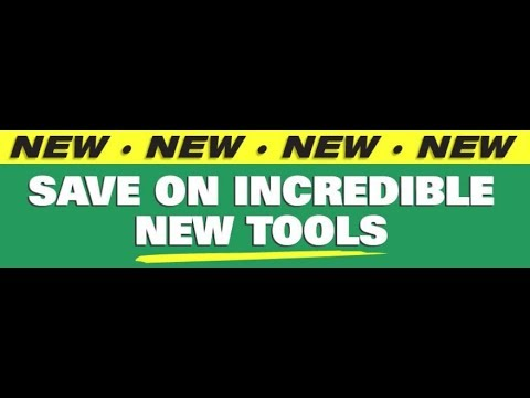 HUGE Savings On New Harbor Freight Tools