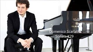 Scarlatti Sonata K29 - Rodolfo Leone piano