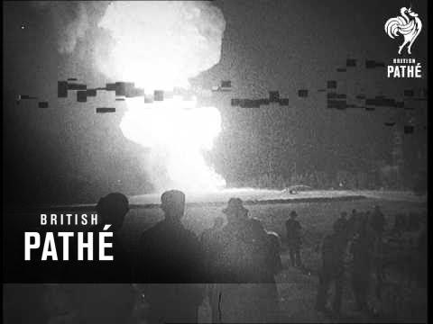 Oil Fire In USA (1938)