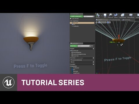Intro To Blueprints: Adding Components To A Class BP | 05 | V4.8 Tutorial Series | Unreal Engine