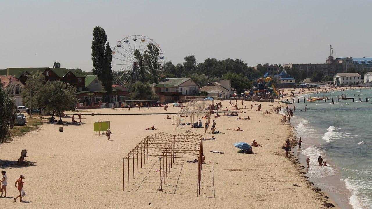 Черноморское пляж фото