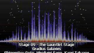 Stage 09a - The Gauntlet Stage - Gradius Galaxies
