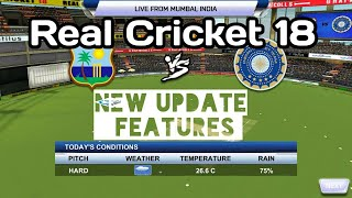 Real Cricket 18 New update Launched | New Features in ios