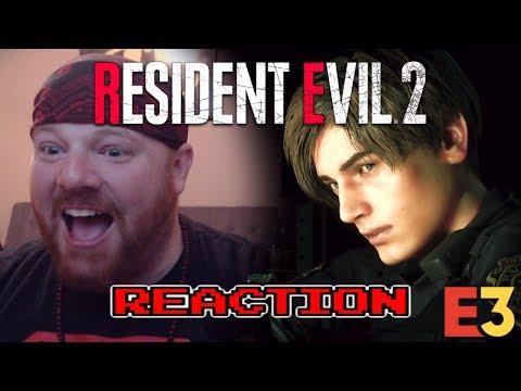 CAPCOM WINS E3!! - RESIDENT EVIL 2 REMAKE - KRIMSON KB REACTS
