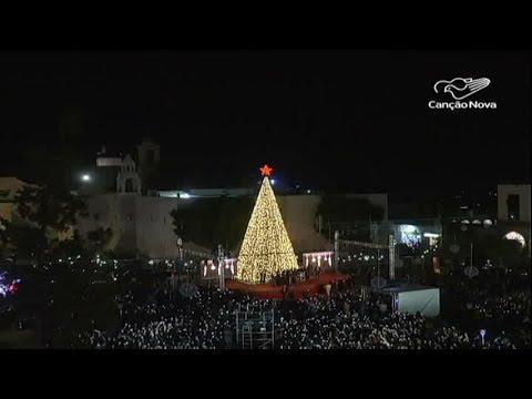 Iluminação De Natal é Inaugurada Na Praça Da Manjedoura Em Belém