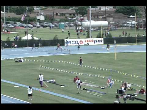 CIF California State Meet 1998 Boys 300 Hurdles