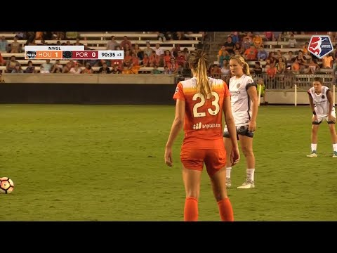 Highlights: Horan's Late Goal Salvages 1-1 Draw For Portland Thorns FC Vs. Houston Dash