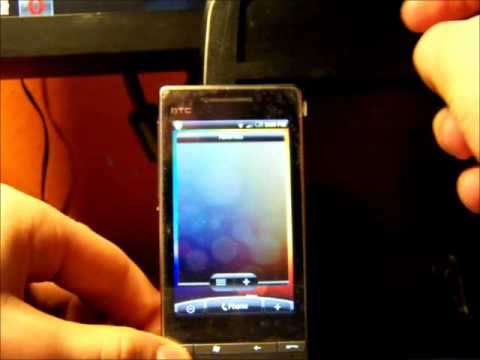 HTC Touch Diamond 2 Android 2.1 with Sense by LENINred