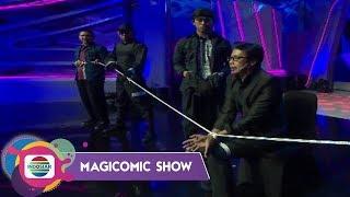 Haha Aksi Escapology Joe Sandy Bikin Bengong Penonton –MAGICOMIC SHOW