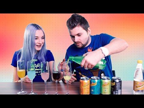 Как правильно пить швепс