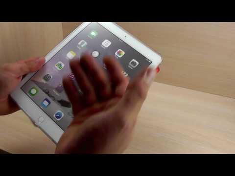 ОБЗОР: Фирменный Кожаный Чехол-Подставка Smart Cover для iPad 2/ 3 .