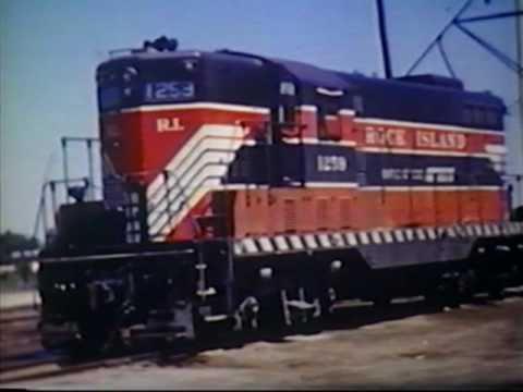 Bob Chester Series pt 6 - Vintage Rock Island Freight