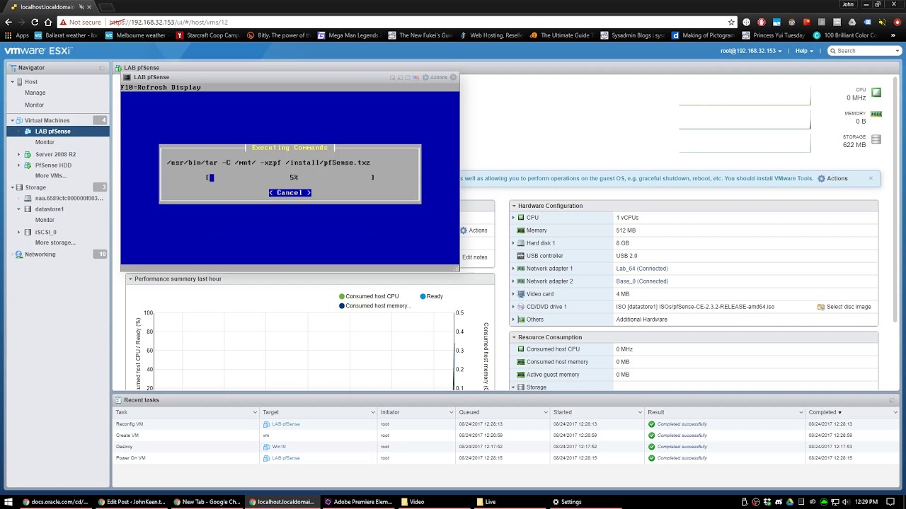 Windows Server 2016 001: Active Directory Lab Setup