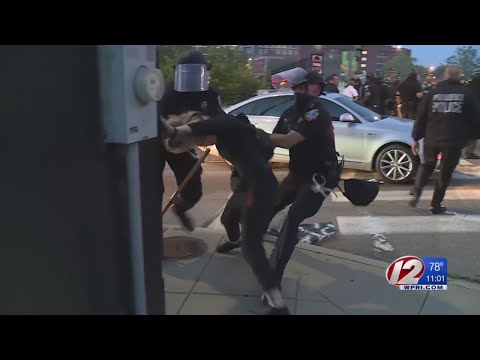 Arrests Made At Protest Outside Providence Police Department