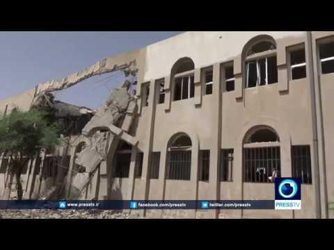 -Saudi Arabia destroys most of schools in Yemen's Sada'a province-