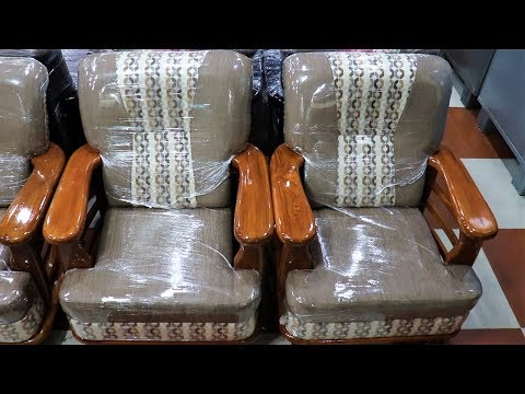 New Latest Charlie Sofa Set Teak Handle With Cushion Models And Designs 2019