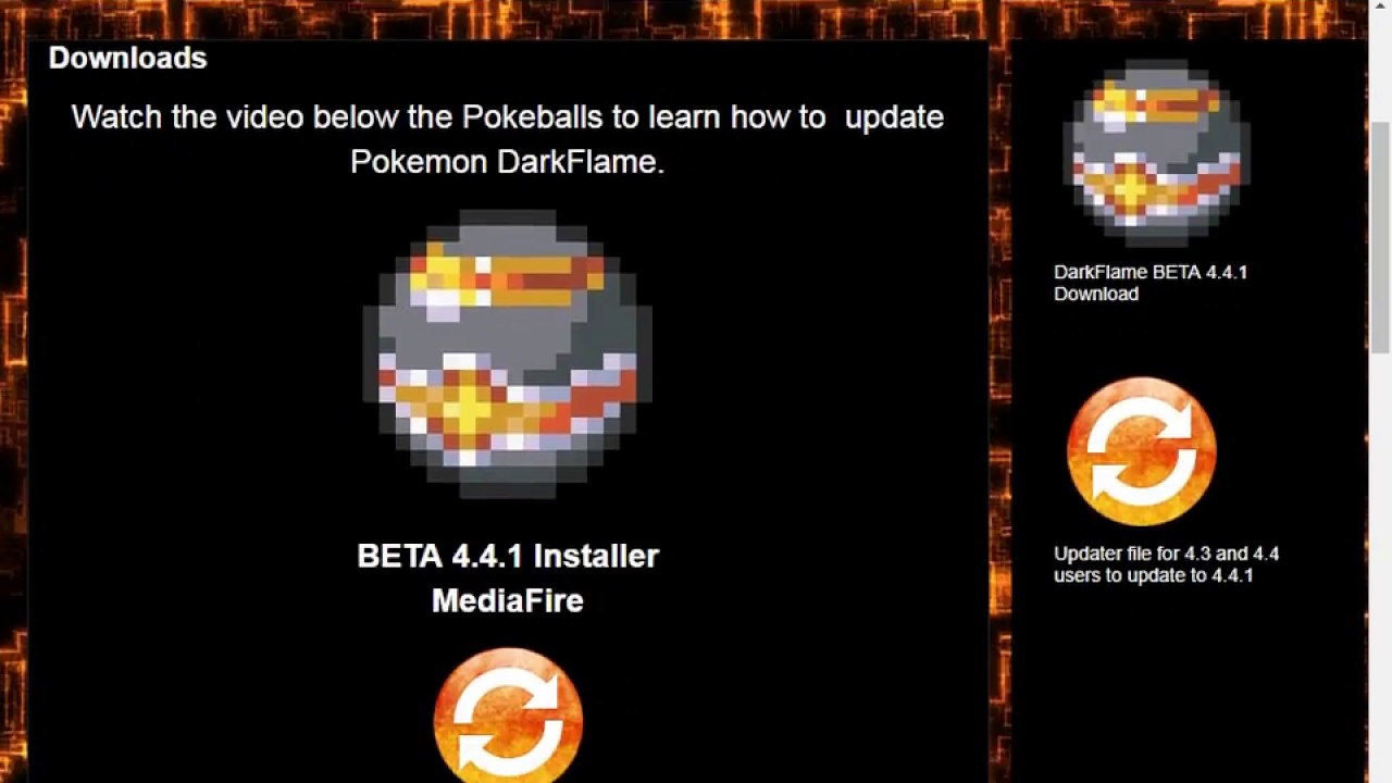 pokemon dark flame gba zip