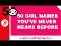 50 baby girl names you have never heard - little-eared baby names - www.namesoftheworld.net