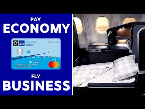 Upgrade To Business Class For FREE | SAS EuroBonus Mastercard Fly Premium Voucher