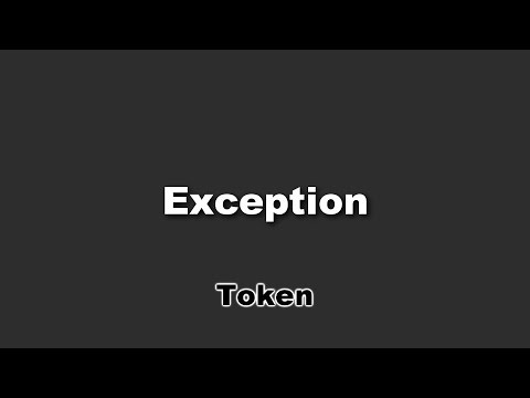 Token - Exception Lyrics