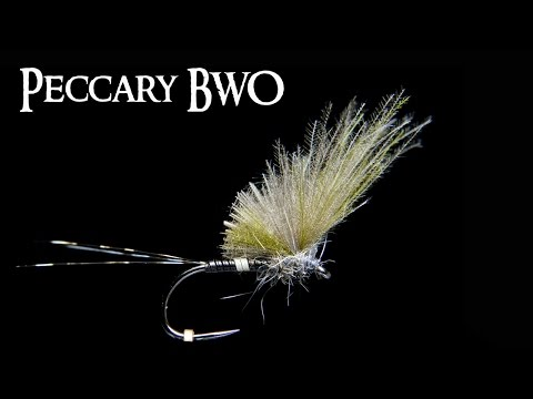 BWO Peccary Dry Fly ~ Quill Doesn