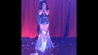Maria Nalbandian #IceBucketChallenge in live consert Beirut Lebanon