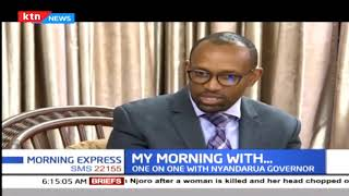 My Morning with Nyandarua Governor Francis Kimemia