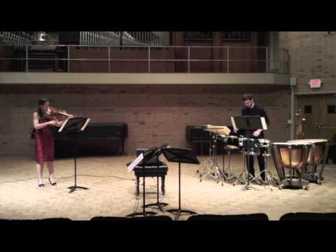 Redwood by Paul Chihara - Rose Wollman, viola, Ross Erickson, percussion