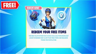 New! PlayStation 4 SKIN in Fortnite! Battle Royale! (Neo Versa Bundle!)