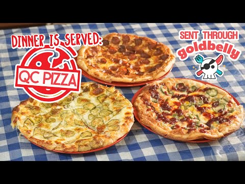 Frozen Pizzas Challenge Quad Cities-Style Pickle Pizza Via GoldBelly!!