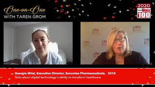 Georgia Mitsi, Sunovion Pharmaceuticals – 2020 PharmaVOICE 100 Celebration