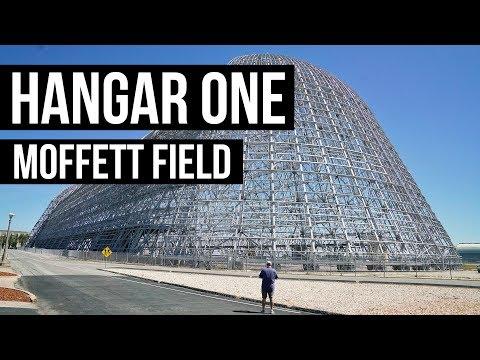 The Amazing Hangar One At Moffett Field Near San Francisco