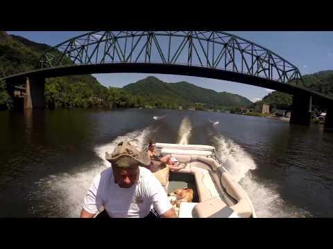 Kanawha River boat ride