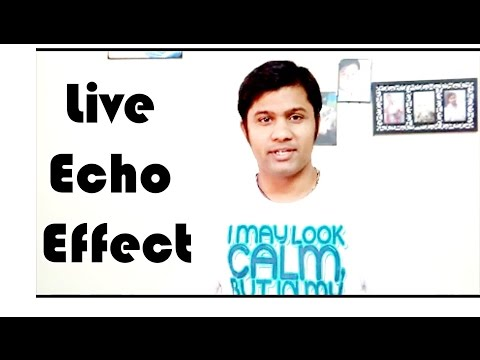 Live Echo Effect | Flute | Bluetooth Speaker | Android App
