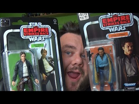 Star Wars Black Series 40th Anniversary Bespin Han Solo & Lando Figure Review (Empire Strikes Back)