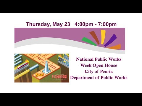 National Public Works  Week Open House