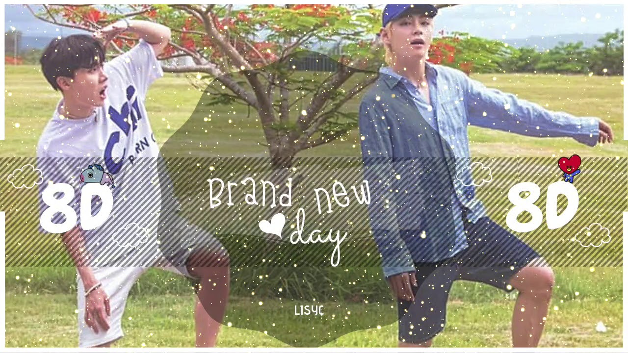 Download Video 🌼💜 8D AUDIO A BRAND NEW DAY - BTS USE