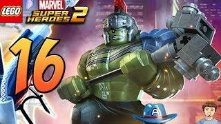 LEGO Marvel Super Heroes 2 - PART 16 - Thor Ragnarok Hulk Gameplay!