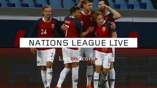 Slovenia vs Norway - Uefa Nations League 2018