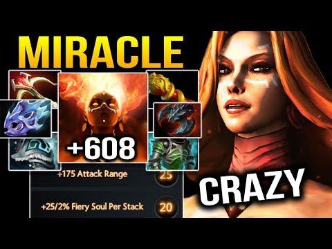 MIRACLE Lina 7.14 Machine Gun CRAZY ATK SPEED Dota 2 thumbnail