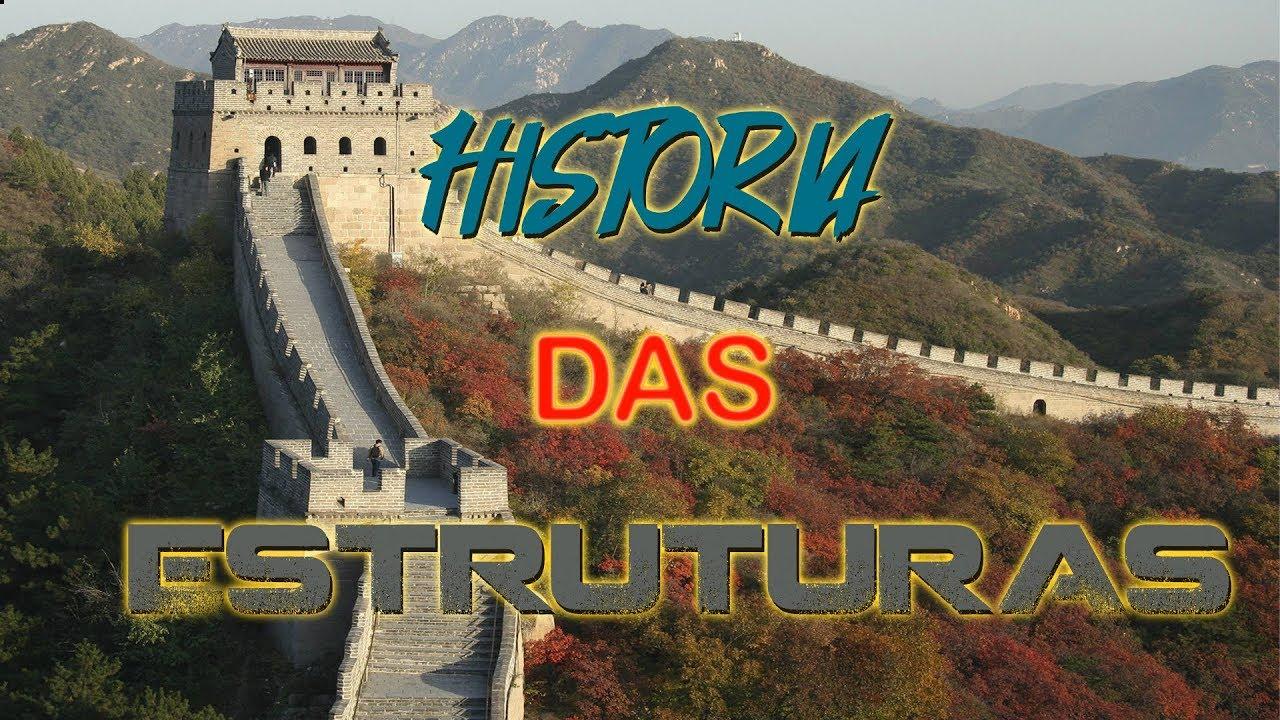 A Grande muralha da China - História das estruturas