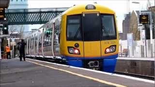 09/12/2012 First Day Of London Overground Between Clapham junction & Canda water Via peckham rye