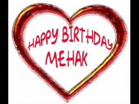 HApPy BiRthdAy MehAK MAy YOu Live LoNg SUNny